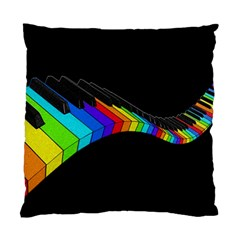 Rainbow Piano  Standard Cushion Case (one Side) by Valentinaart