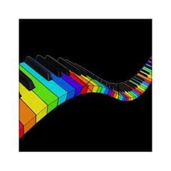 Rainbow Piano  Acrylic Tangram Puzzle (6  X 6 ) by Valentinaart