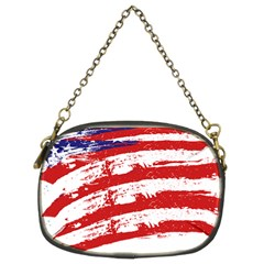 American Flag Chain Purses (two Sides)  by Valentinaart