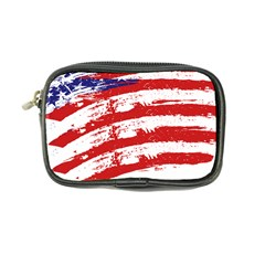 American Flag Coin Purse by Valentinaart