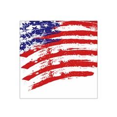 American Flag Satin Bandana Scarf by Valentinaart