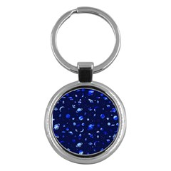 Space Pattern Key Chains (round)  by ValentinaDesign