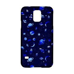 Space Pattern Samsung Galaxy S5 Hardshell Case  by ValentinaDesign