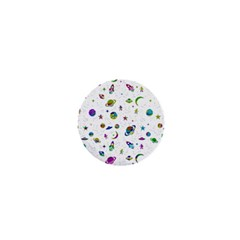 Space Pattern 1  Mini Buttons by ValentinaDesign