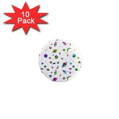 Space Pattern 1  Mini Magnet (10 Pack)  by ValentinaDesign