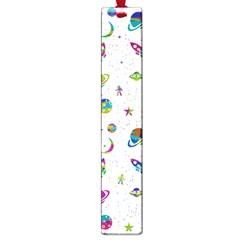 Space Pattern Large Book Marks by ValentinaDesign