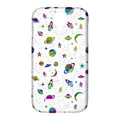 Space Pattern Samsung Galaxy S4 Classic Hardshell Case (pc+silicone) by ValentinaDesign
