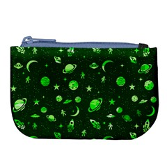 Space Pattern Large Coin Purse