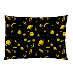 Space Pattern Pillow Case by ValentinaDesign