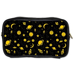 Space Pattern Toiletries Bags 2 Side by ValentinaDesign