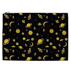 Space Pattern Cosmetic Bag (xxl)  by ValentinaDesign