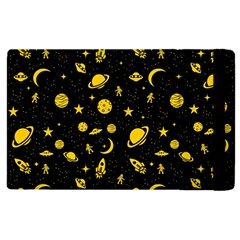 Space Pattern Apple Ipad 2 Flip Case by ValentinaDesign