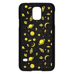 Space Pattern Samsung Galaxy S5 Case (black) by ValentinaDesign