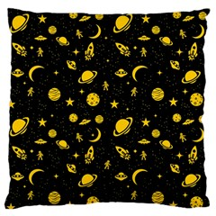Space Pattern Standard Flano Cushion Case (one Side) by ValentinaDesign
