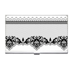 Transparent Lace Decoration Business Card Holders