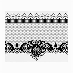 Transparent Lace Decoration Small Glasses Cloth by Nexatart