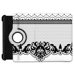Transparent Lace Decoration Kindle Fire Hd 7  by Nexatart