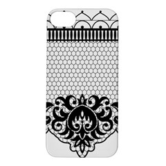 Transparent Lace Decoration Apple Iphone 5s/ Se Hardshell Case
