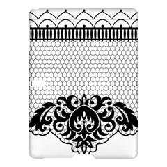 Transparent Lace Decoration Samsung Galaxy Tab S (10 5 ) Hardshell Case  by Nexatart