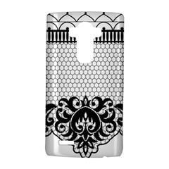 Transparent Lace Decoration Lg G4 Hardshell Case by Nexatart