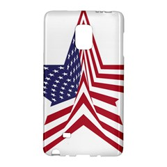 A Star With An American Flag Pattern Galaxy Note Edge