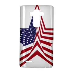 A Star With An American Flag Pattern Lg G4 Hardshell Case by Nexatart