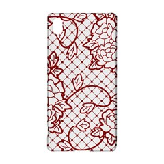 Transparent Decorative Lace With Roses Sony Xperia Z3+ by Nexatart