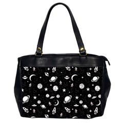 Space Pattern Office Handbags (2 Sides)  by ValentinaDesign