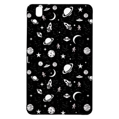 Space Pattern Samsung Galaxy Tab Pro 8 4 Hardshell Case by ValentinaDesign