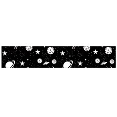 Space Pattern Flano Scarf (large) by ValentinaDesign