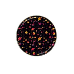 Space Pattern Hat Clip Ball Marker by ValentinaDesign