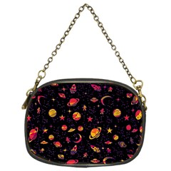 Space Pattern Chain Purses (two Sides)  by ValentinaDesign