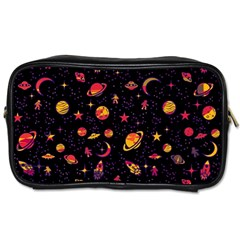 Space Pattern Toiletries Bags by ValentinaDesign