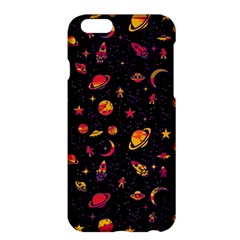 Space Pattern Apple Iphone 6 Plus/6s Plus Hardshell Case by ValentinaDesign