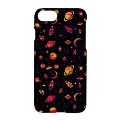 Space Pattern Apple Iphone 7 Hardshell Case by ValentinaDesign
