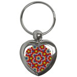 Penrose Tiling Key Chains (Heart)  Front