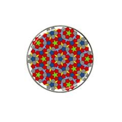 Penrose Tiling Hat Clip Ball Marker (10 Pack) by Nexatart