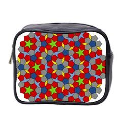 Penrose Tiling Mini Toiletries Bag 2 Side by Nexatart