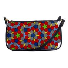 Penrose Tiling Shoulder Clutch Bags
