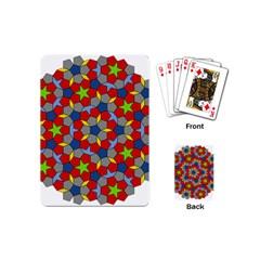 Penrose Tiling Playing Cards (mini)