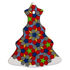 Penrose Tiling Ornament (christmas Tree)