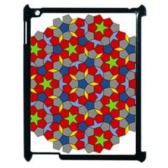 Penrose Tiling Apple Ipad 2 Case (black) by Nexatart