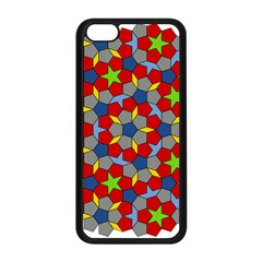 Penrose Tiling Apple Iphone 5c Seamless Case (black)