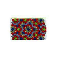 Penrose Tiling Cosmetic Bag (xs) by Nexatart