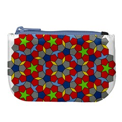 Penrose Tiling Large Coin Purse