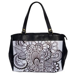 Henna Line Art Clipart Office Handbags by Nexatart