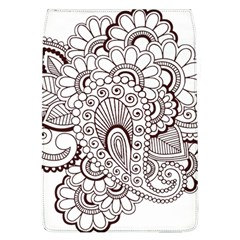 Henna Line Art Clipart Flap Covers (l)