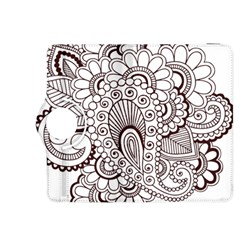 Henna Line Art Clipart Kindle Fire Hdx 8 9  Flip 360 Case