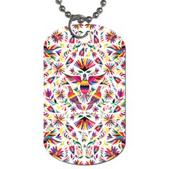 Otomi Vector Patterns On Behance Dog Tag (one Side) by Nexatart