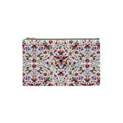 Otomi Vector Patterns On Behance Cosmetic Bag (small)  by Nexatart